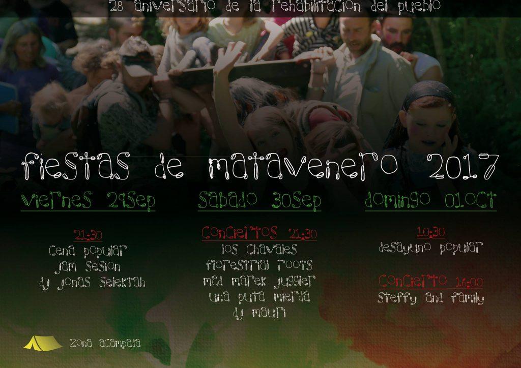Fiestas en Matavenero 2017