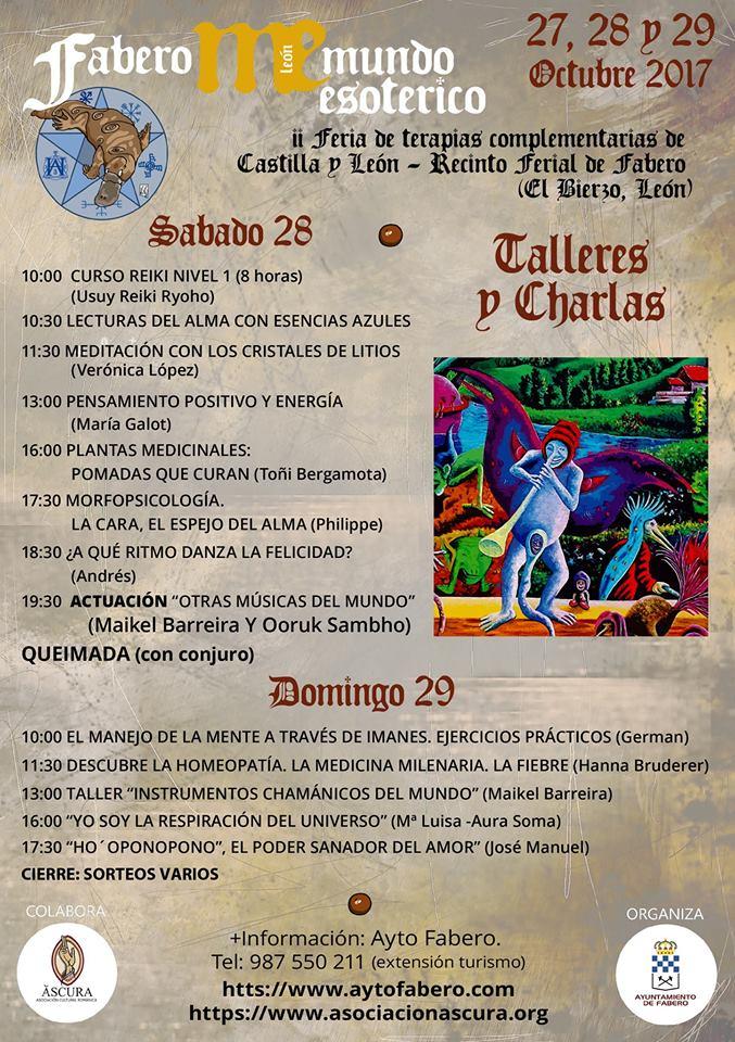 Fabero se apunta por segundo año al Mundo Esotérico con la 2ª Feria de Terapias Complementarias de CyL 3