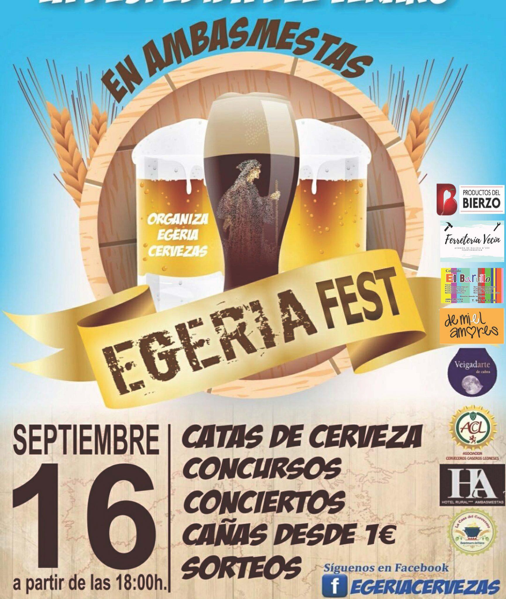 Despide el verano en el 1er 'Egeria Festival' en Ambasmestas. Sábado 16 de septiembre 3