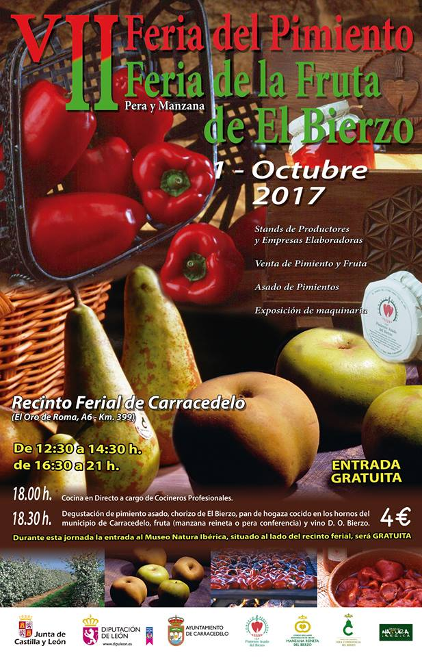 V Feria del Pimiento II feria de la fruta