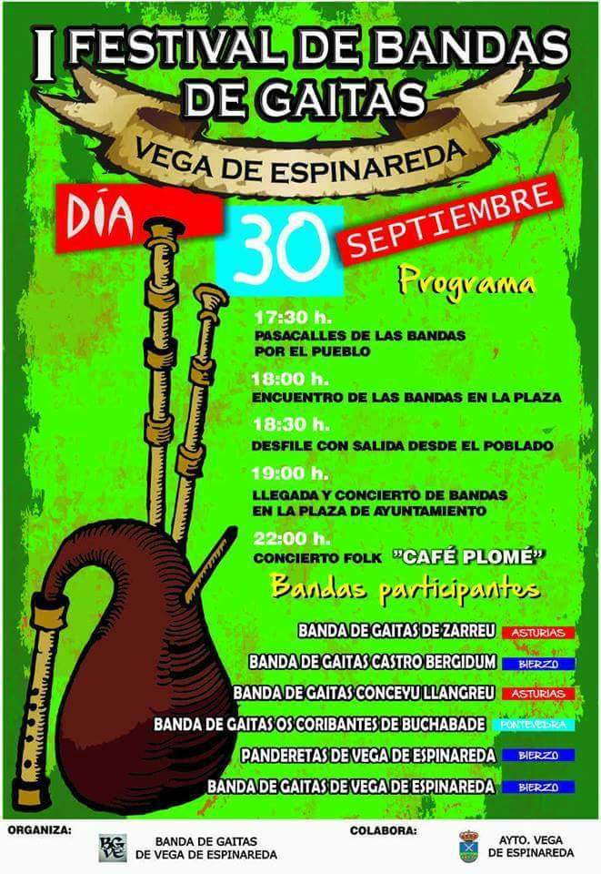 I Festival de Gaitas en Vega de Espinareda