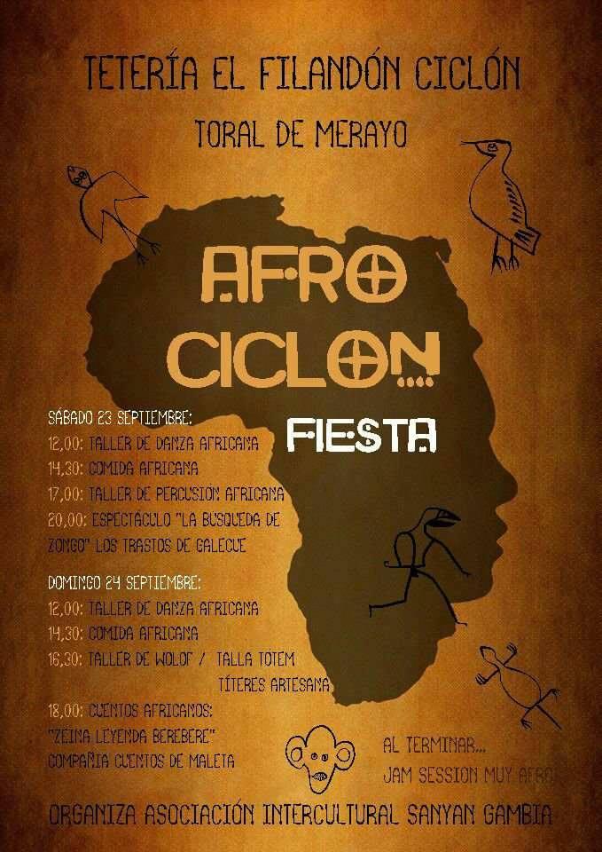 Fiesta Afro Ciclón