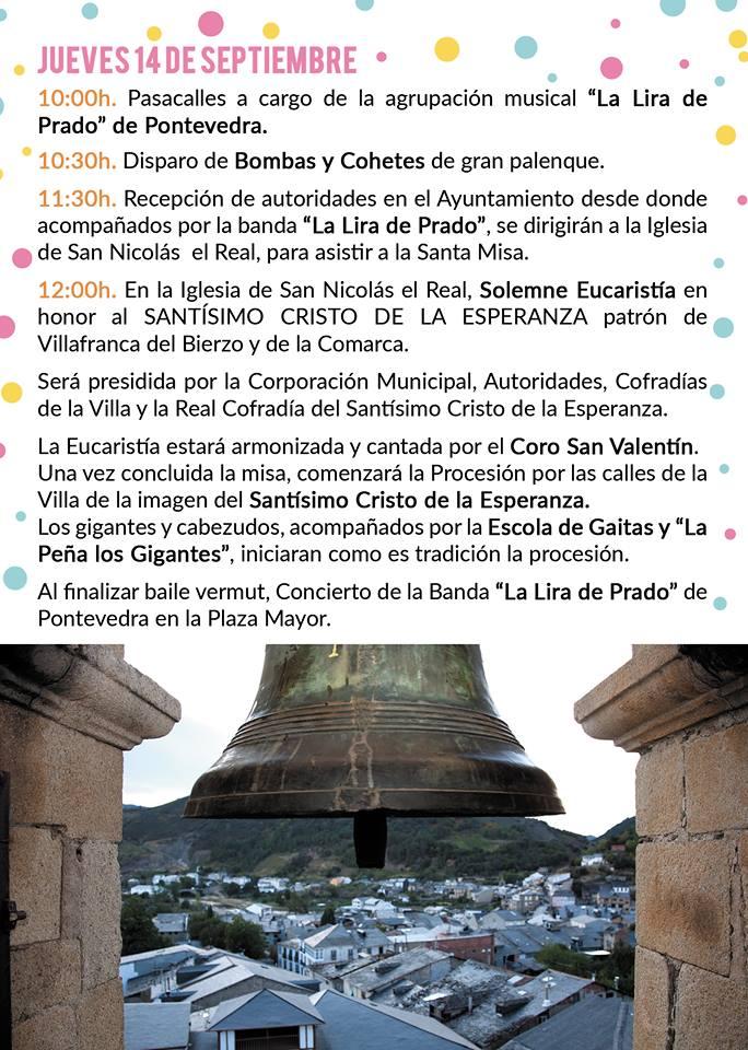 Fiestas del Cristo de la Esperanza 2017 en Villafranca del Bierzo 3