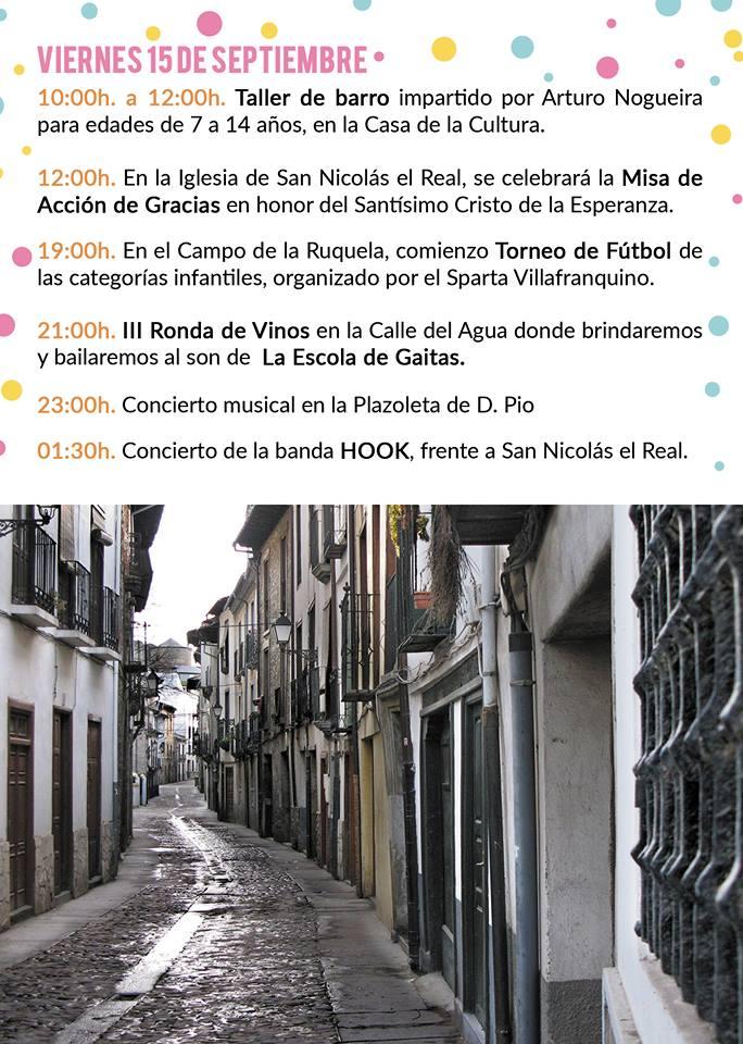 Fiestas del Cristo de la Esperanza 2017 en Villafranca del Bierzo 4