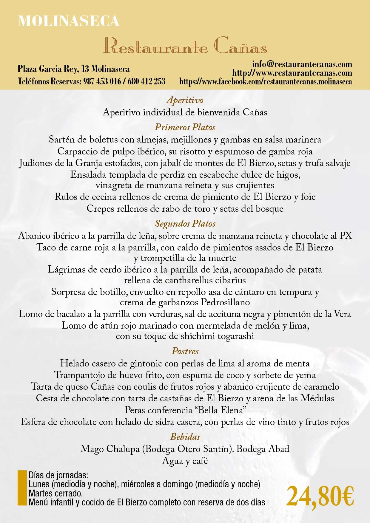 XXXIII Jornadas gastronómicas del Bierzo 2017. Restaurantes participantes 43