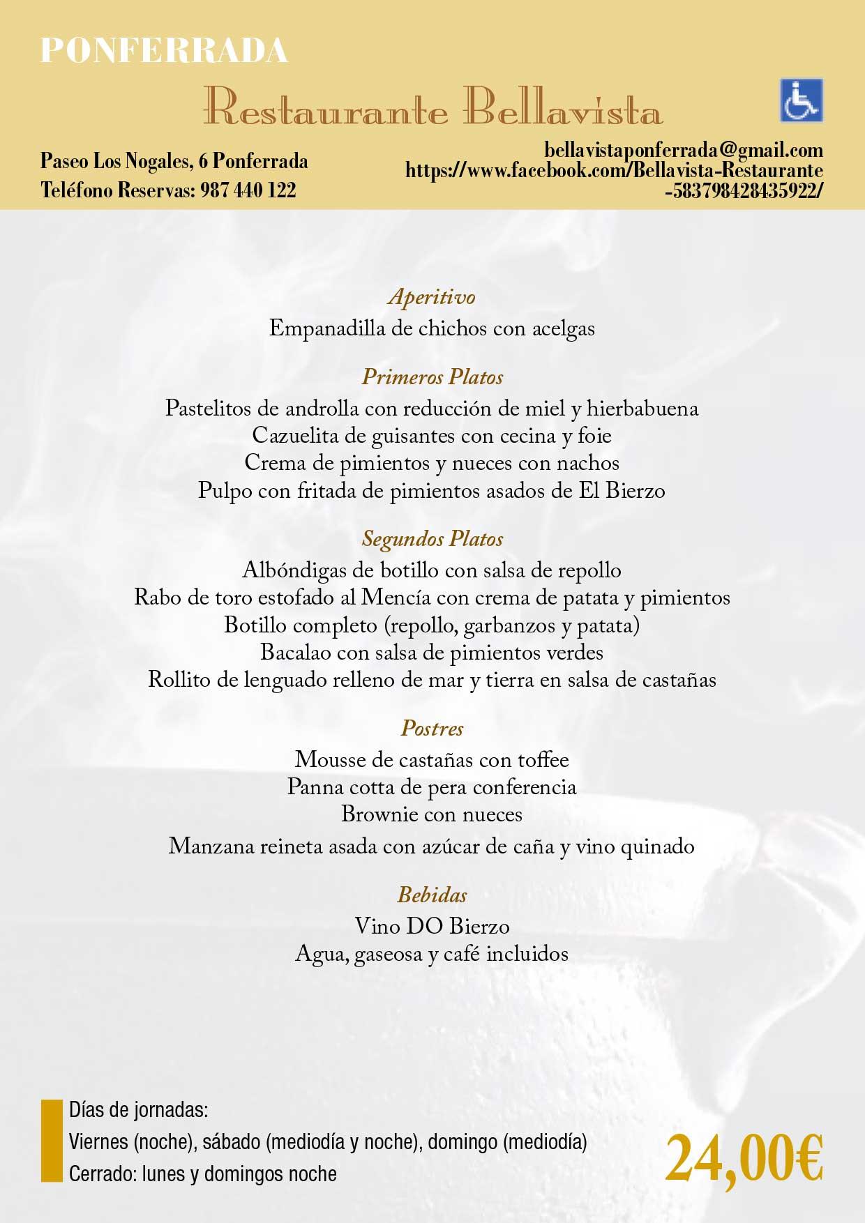 XXXIII Jornadas gastronómicas del Bierzo 2017. Restaurantes participantes 39