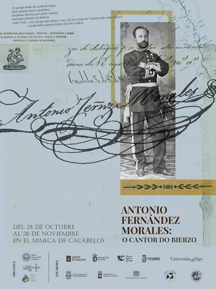 "Exposición: ""Antonio Fernández Morales: O cantor do Bierzo""."