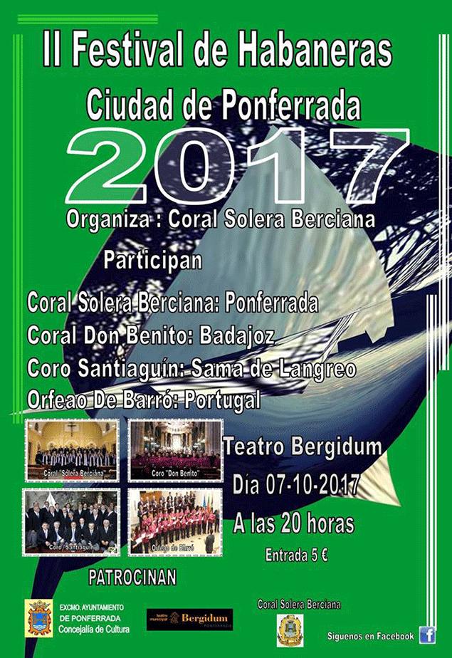 II Festival de Habaneras Ciudad de Ponferrada.
