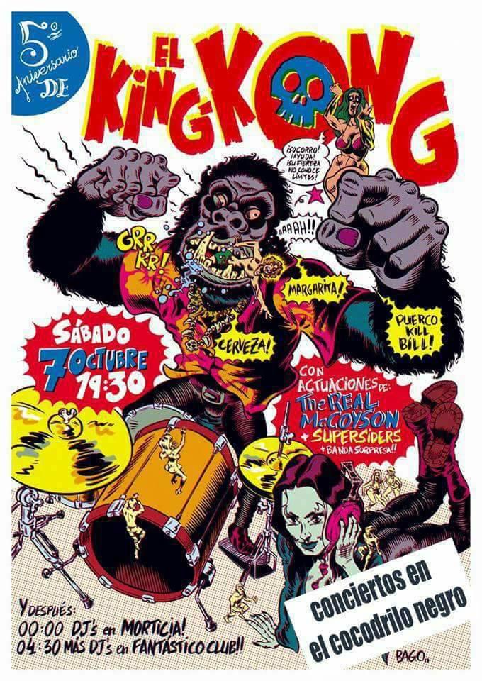 5º Aniversario de El King Kong