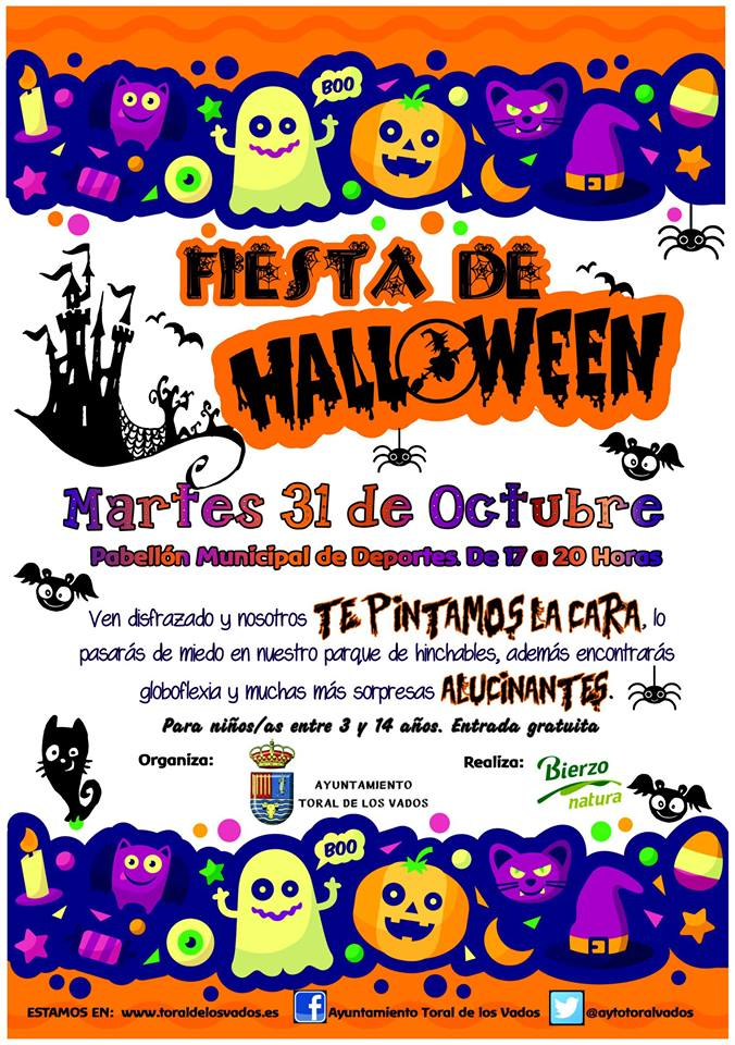 Fiesta de Halloween en Toral de los Vados 2