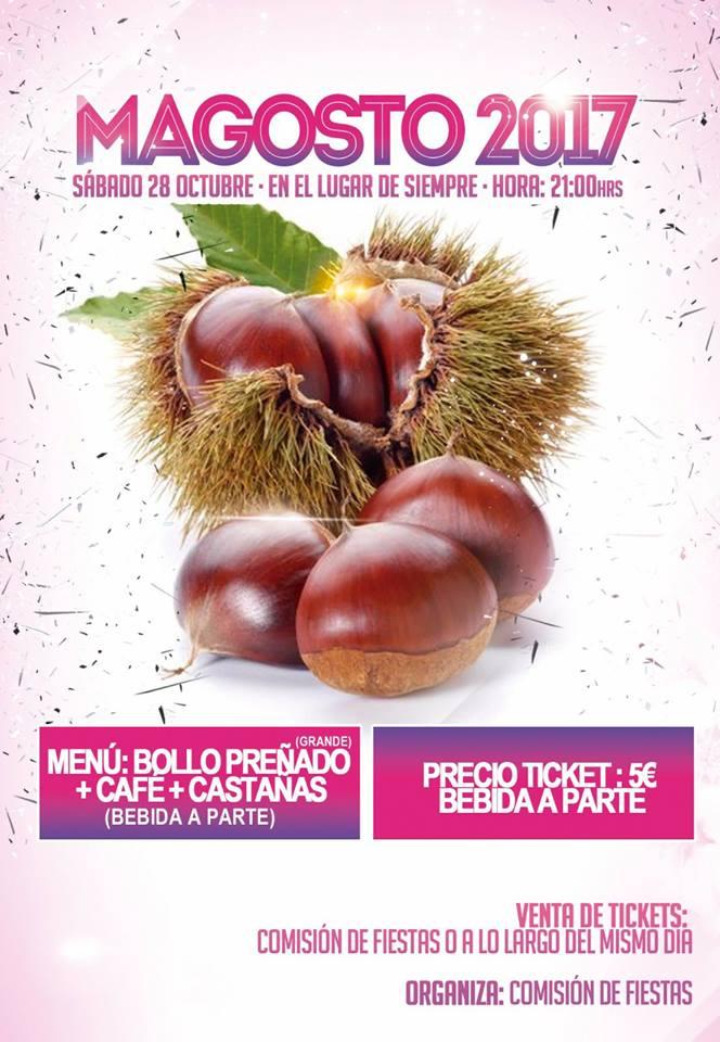 Magosto en San Pedro de Olleros 29 de octubre de 2017 2