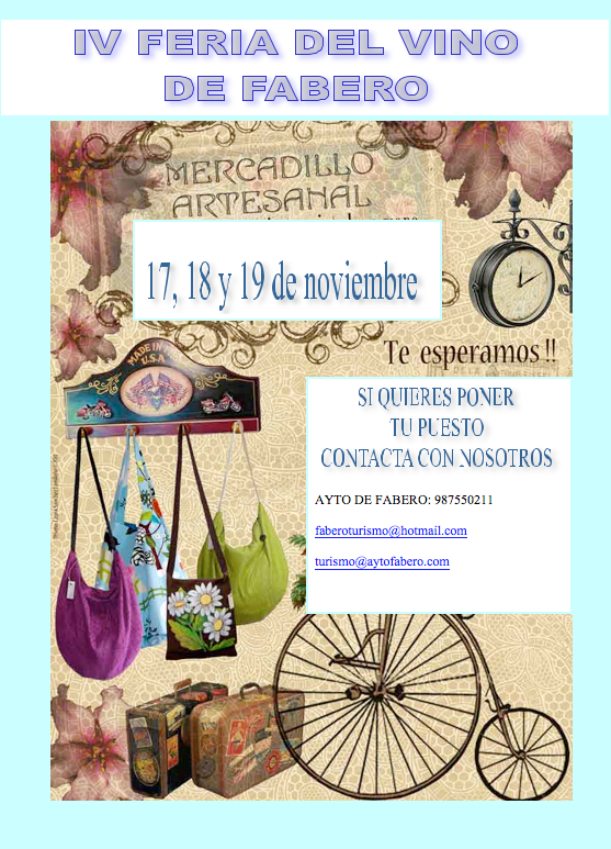 IV Feria del Vino de Fabero 4