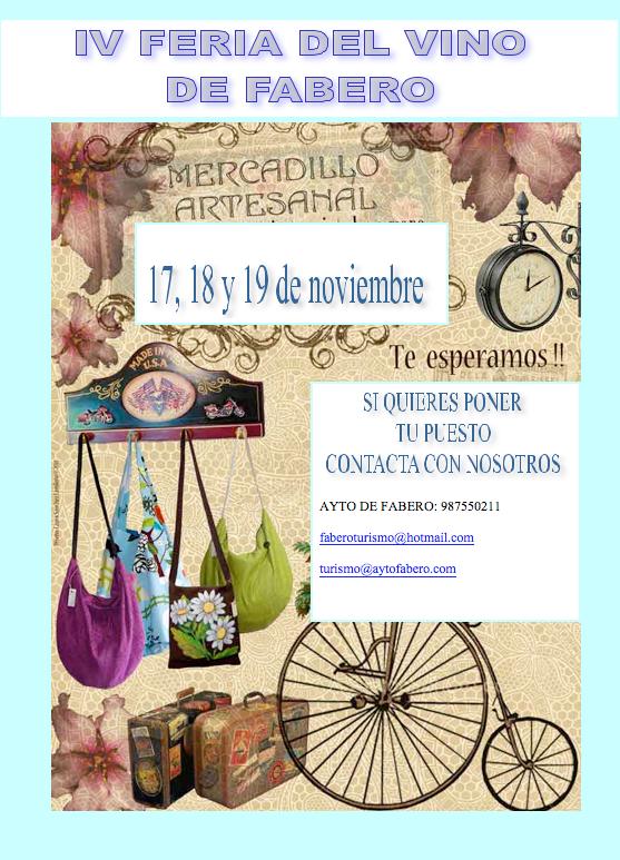 IV Feria del Vino de Fabero