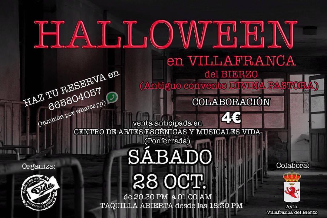 Terror y Halloween en el Antiguo Convento Divina Pastora de Villafranca 2
