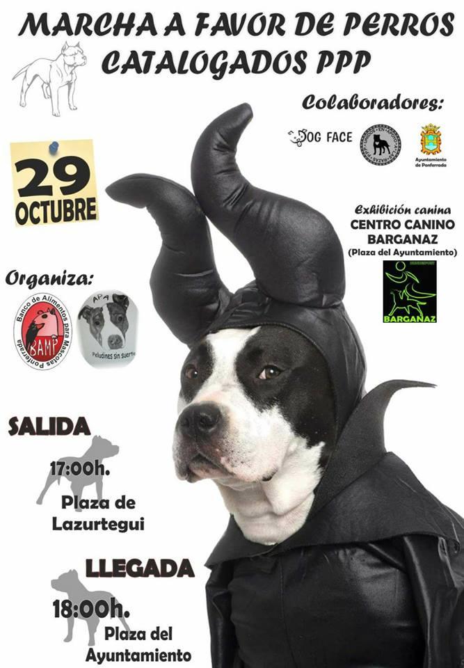 Marcha a favor de los perros catalogados PPP