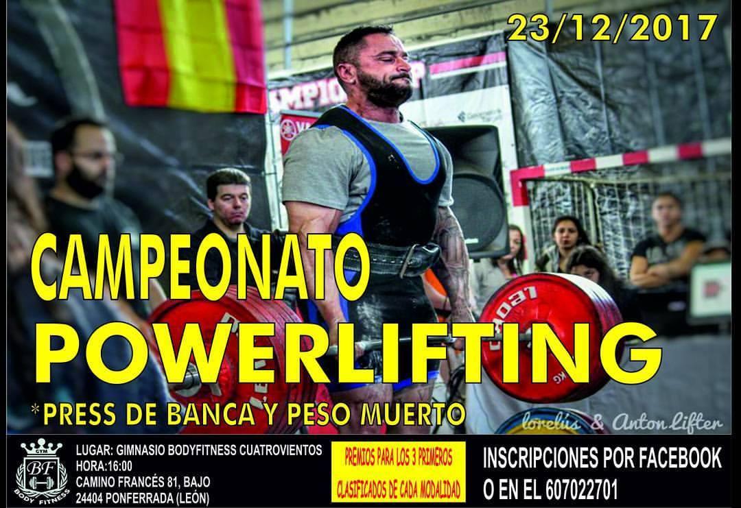 Campeonato de powerlifting