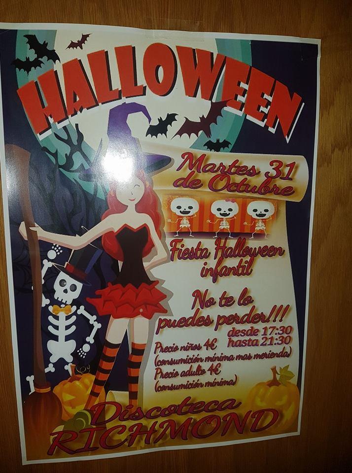 Baile infantil de Halloween en Discoteca Richmond 2