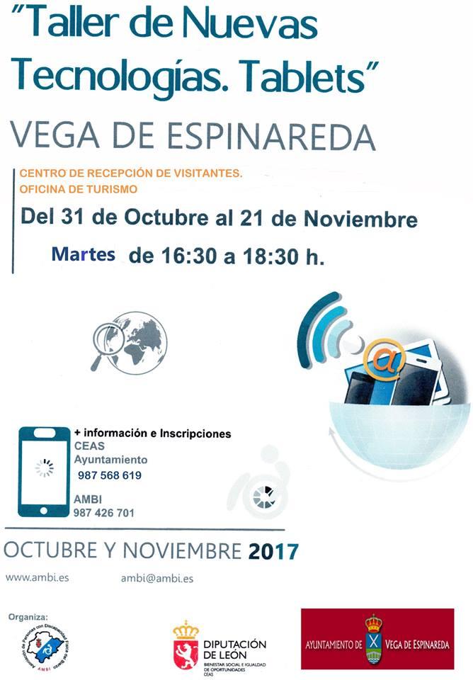 Curso de nuevas tecnologías en Vega de Espinareda 2