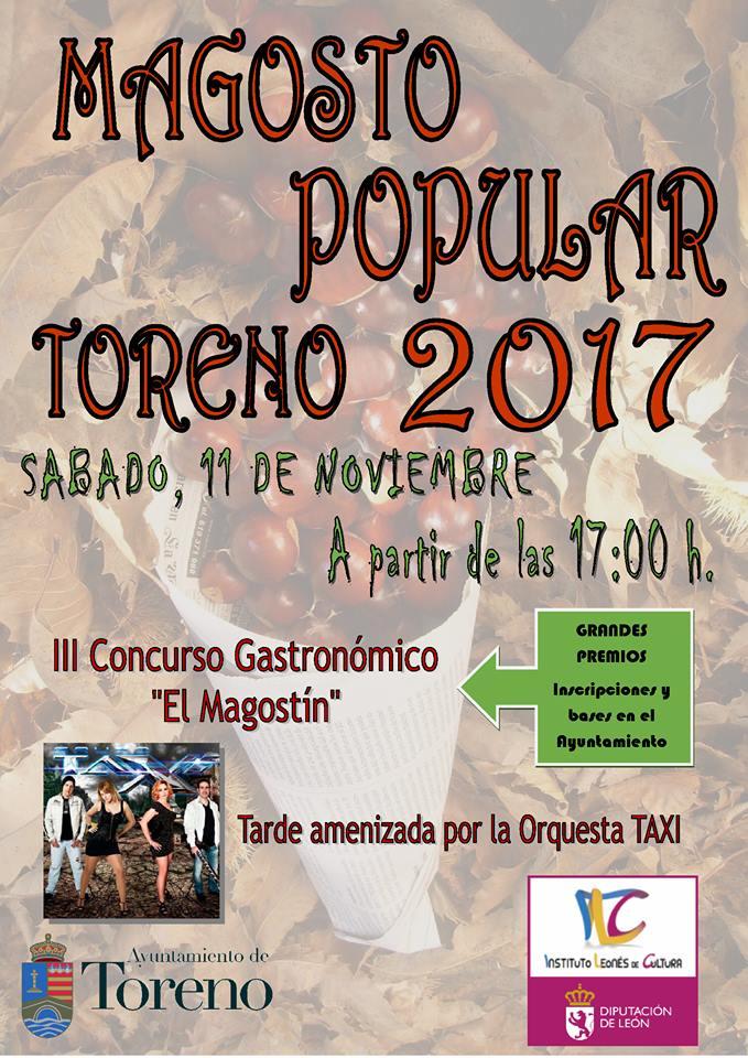 Magosto 2017 en Toreno