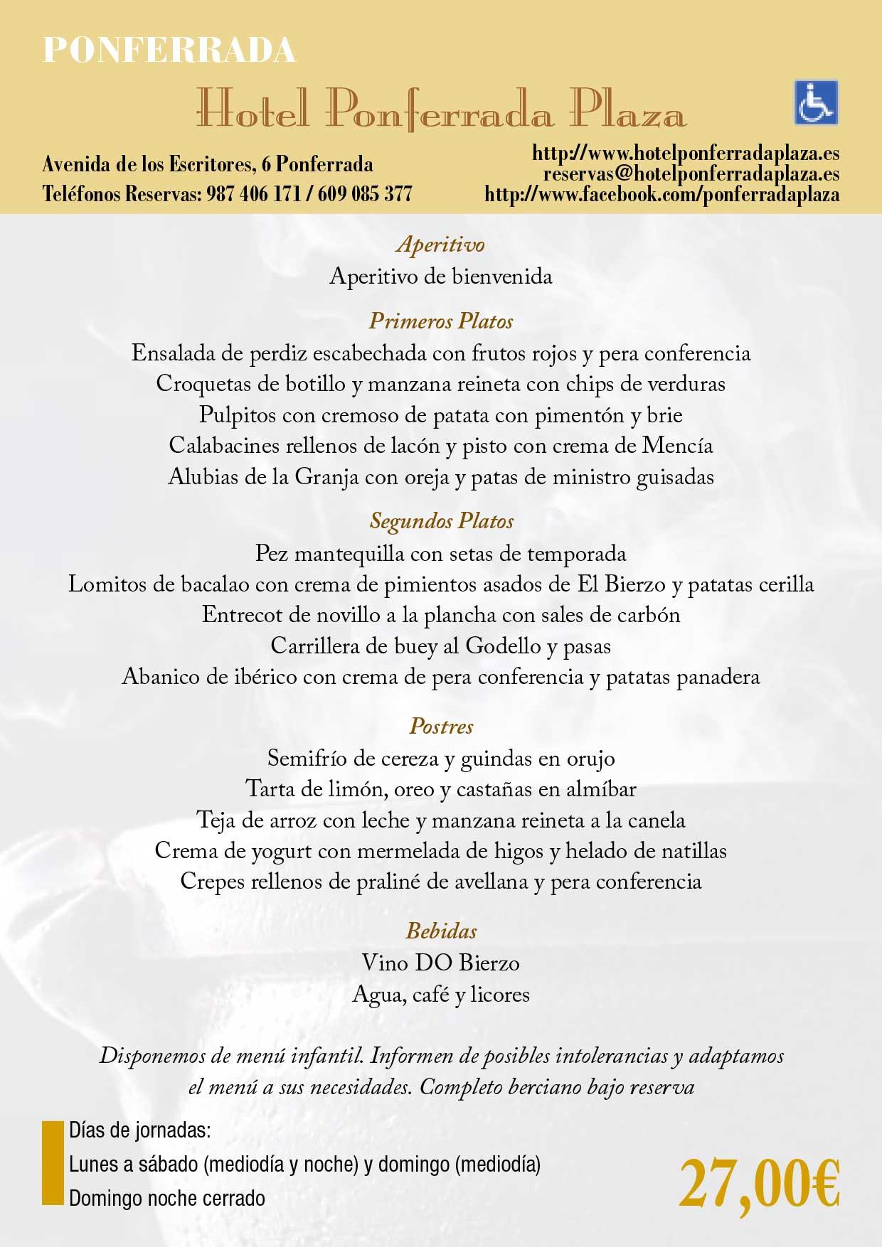 XXXIII Jornadas gastronómicas del Bierzo 2017. Restaurantes participantes 22