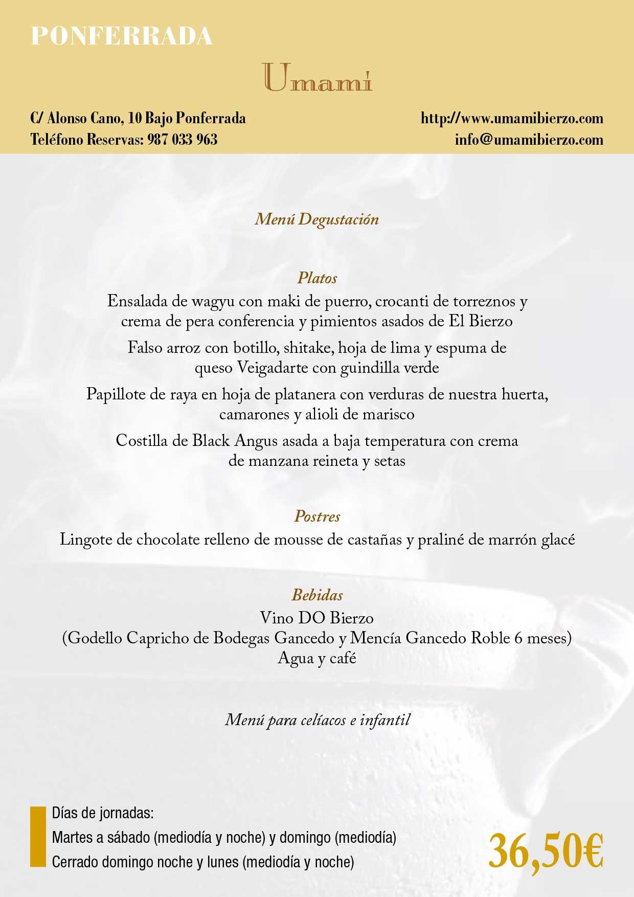 XXXIII Jornadas gastronómicas del Bierzo 2017. Restaurantes participantes 19