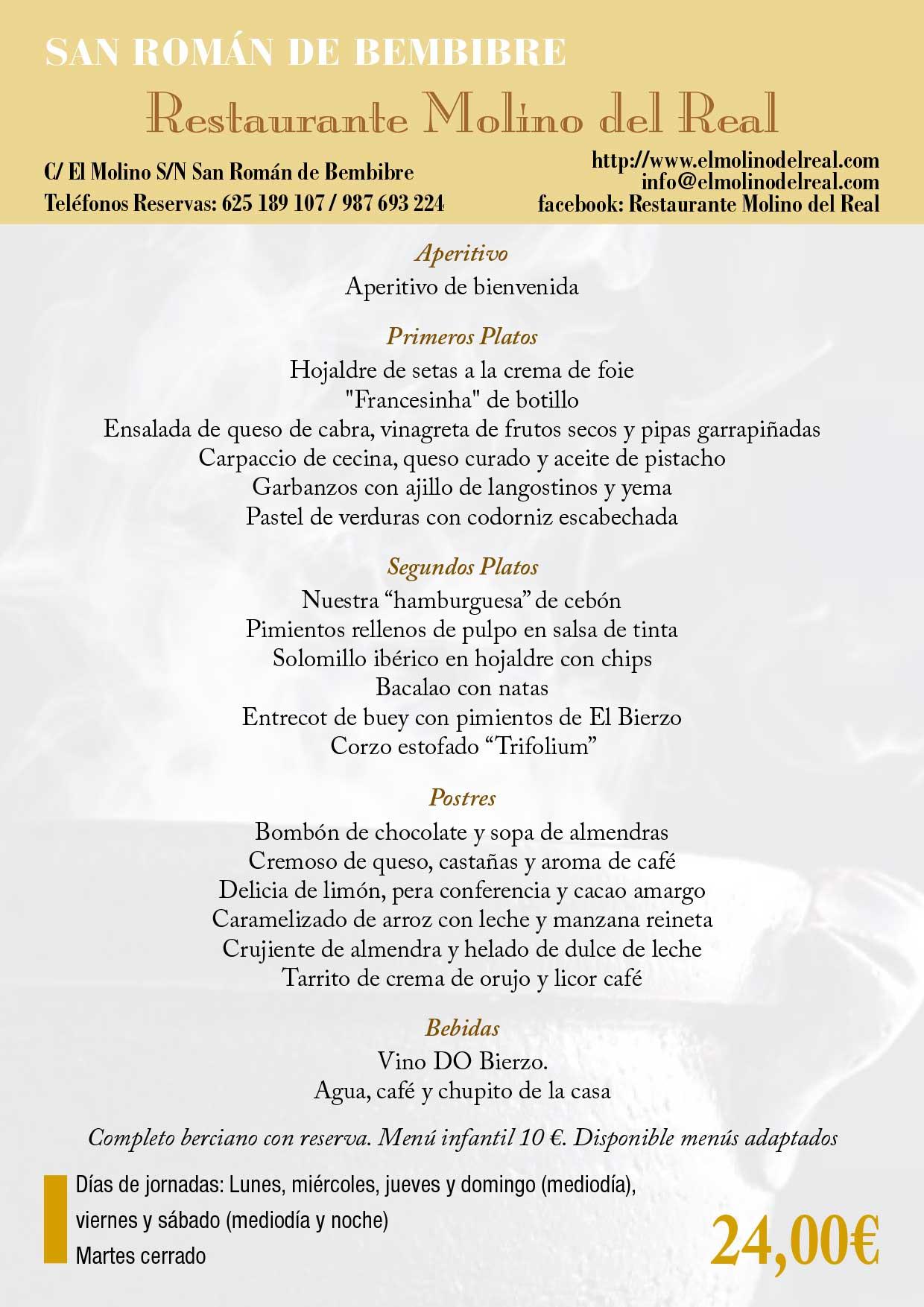 XXXIII Jornadas gastronómicas del Bierzo 2017. Restaurantes participantes 15