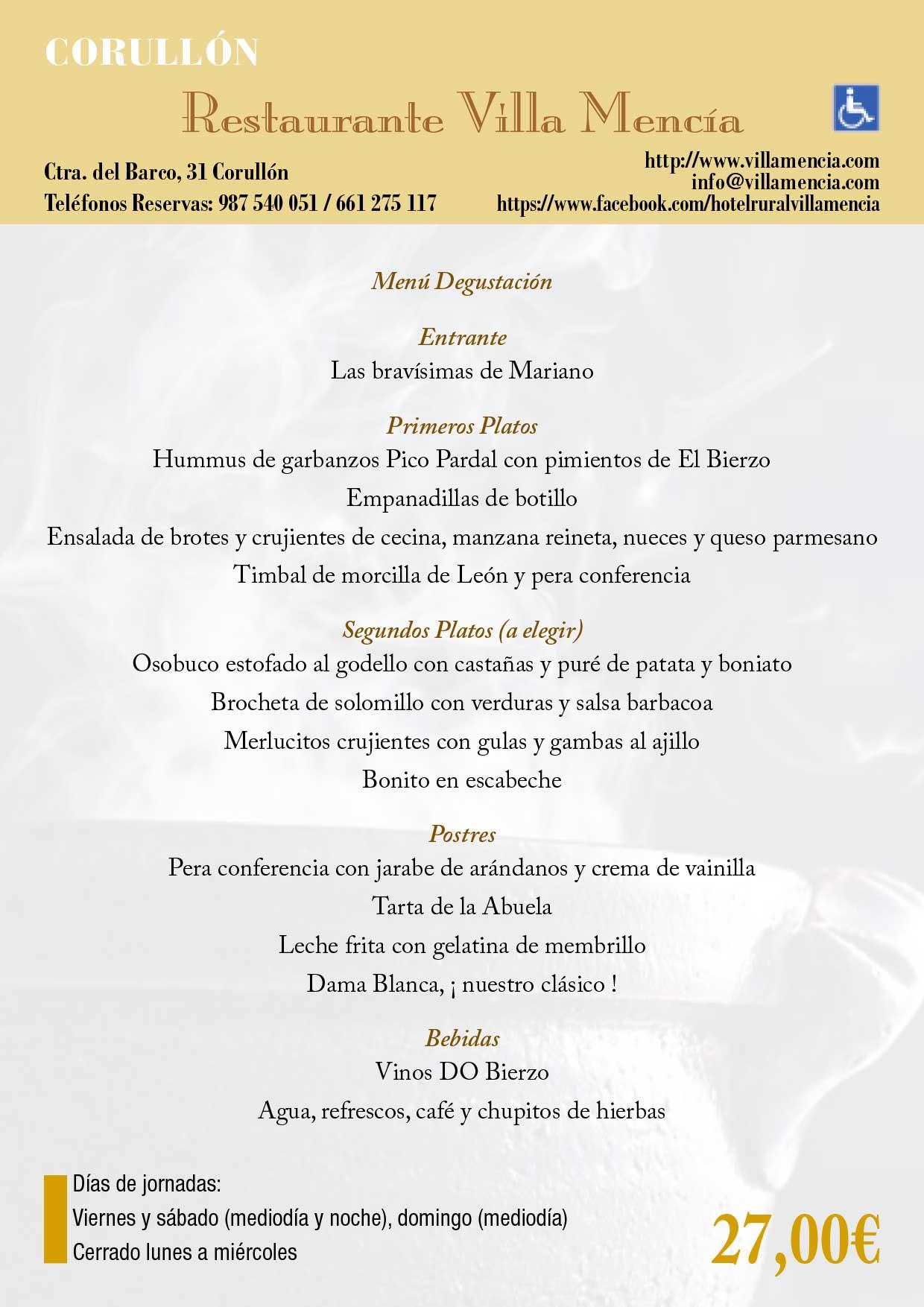 XXXIII Jornadas gastronómicas del Bierzo 2017. Restaurantes participantes 7