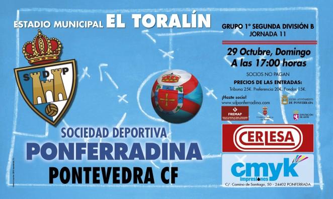 Fútbol: SD Ponferradina - Pontevedra CF