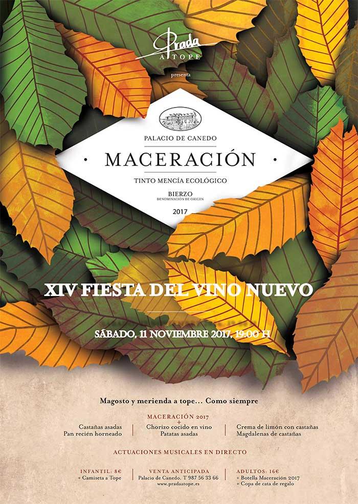 La Fiesta del Vino Nuevo se celebra el 11 de noviembre en el Palacio de Canedo 2