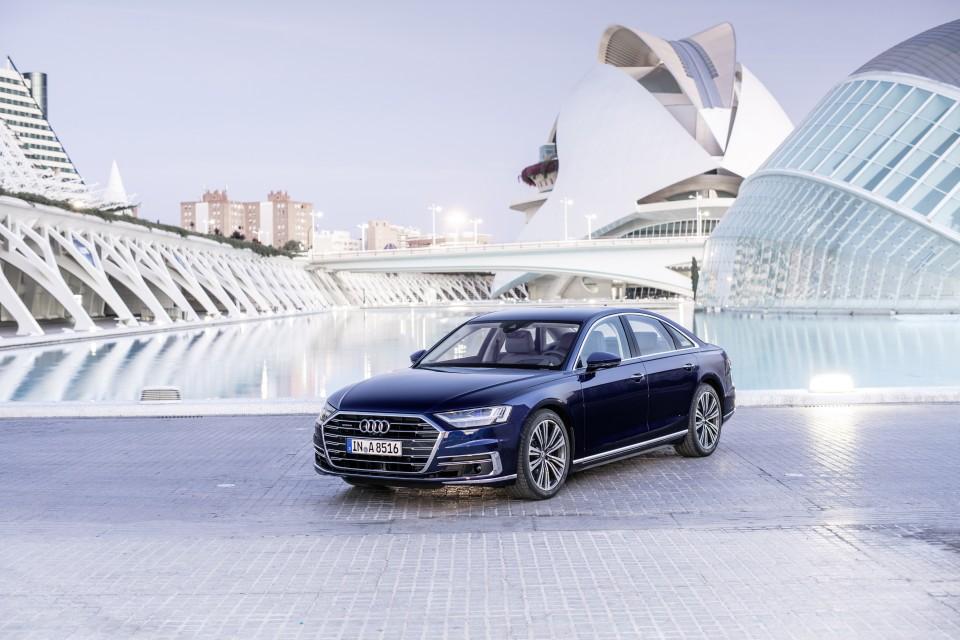 Nuevo Audi A8 4
