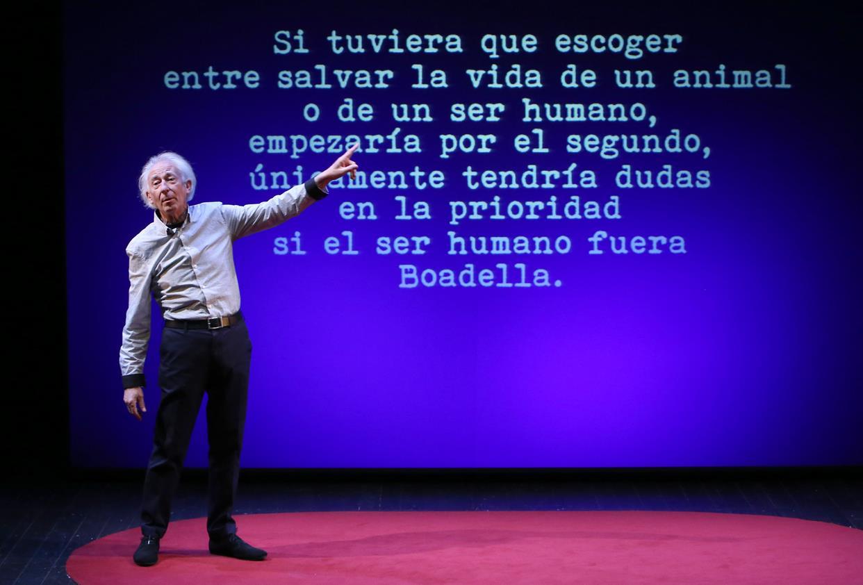 Albert Boadella se interpreta a sí mismo con libertad, humor y osadía en El sermón del bufón