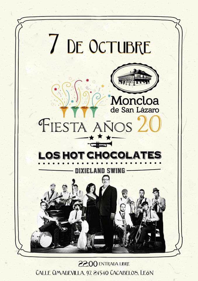 Fiesta Años 20 + Concierto de Los Hot Chocolates