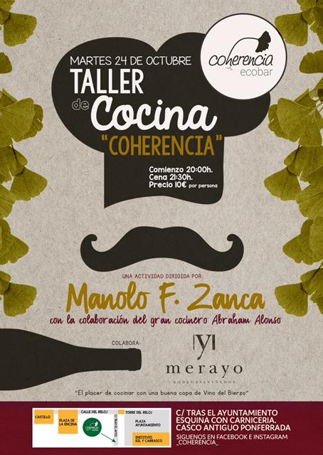 Taller de cocina con Manuel F. Zanca 2