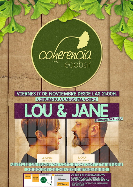 Concierto: Lou & Jane