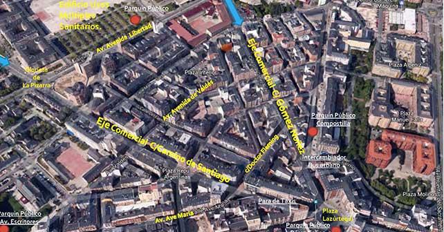 Así quedará el centro de Ponferrada tras el plan de comercio planeado por el Ayuntamiento 4