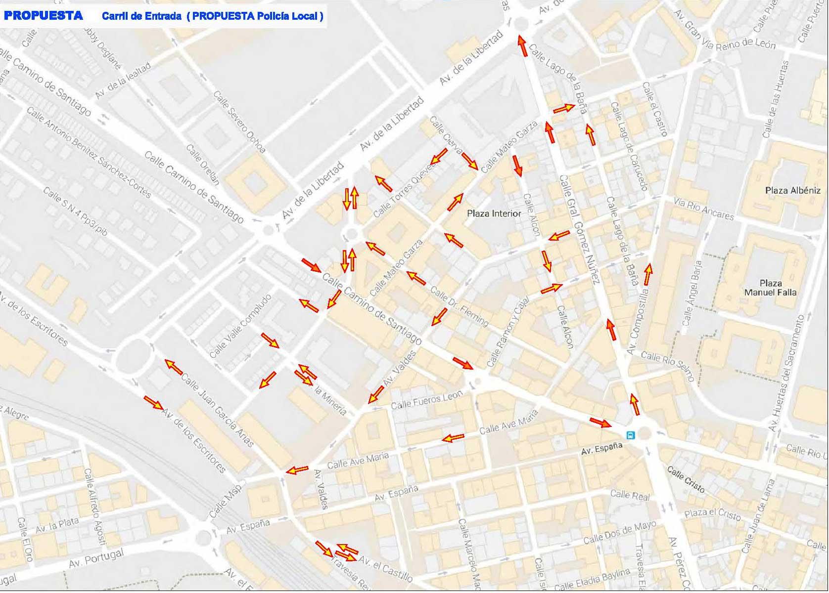 Así quedará el centro de Ponferrada tras el plan de comercio planeado por el Ayuntamiento 2