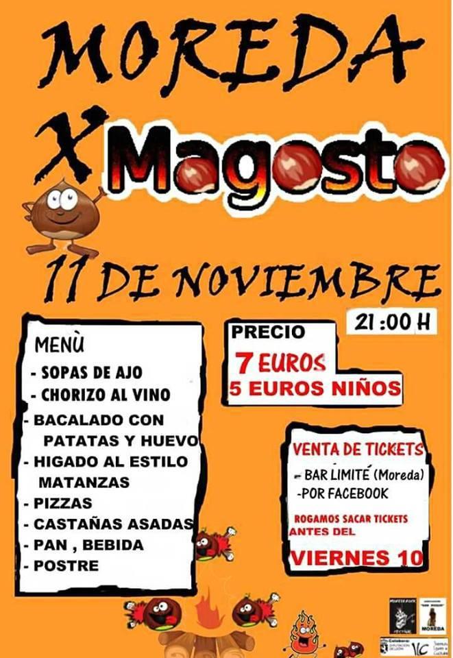 Magosto en Moreda 2017