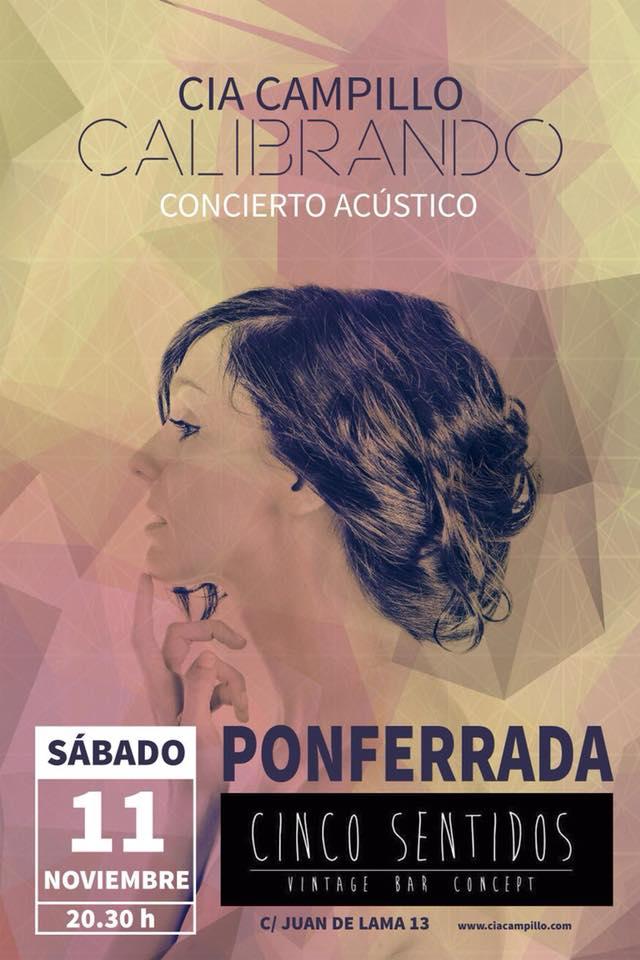 Cia Campillo en concierto acústico 2