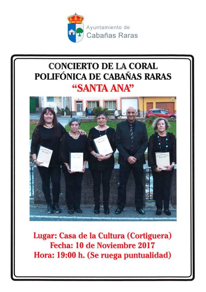 Concierto Coral polifónica Santa Ana