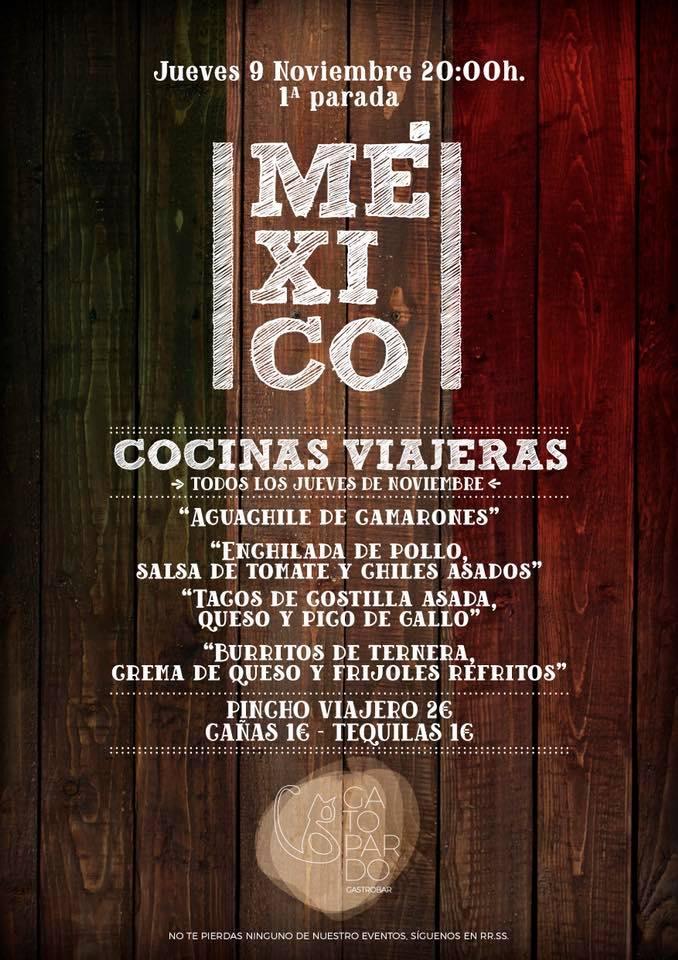 La cocina del Gatopardo vuelve a llevarnos de viaje a México 2