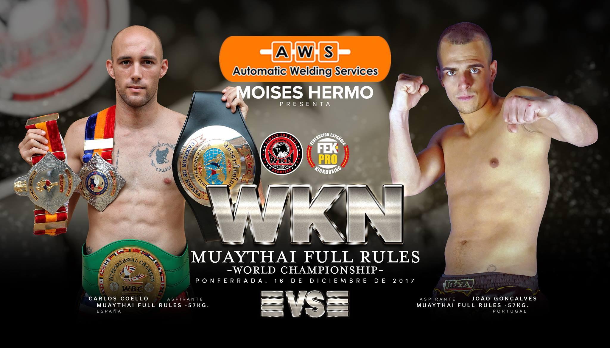 Ponferrada se convertirá en el corazón de las artes marciales: K1 & MuayThai World Championship -16 De Diciembre- Ponferrada 2