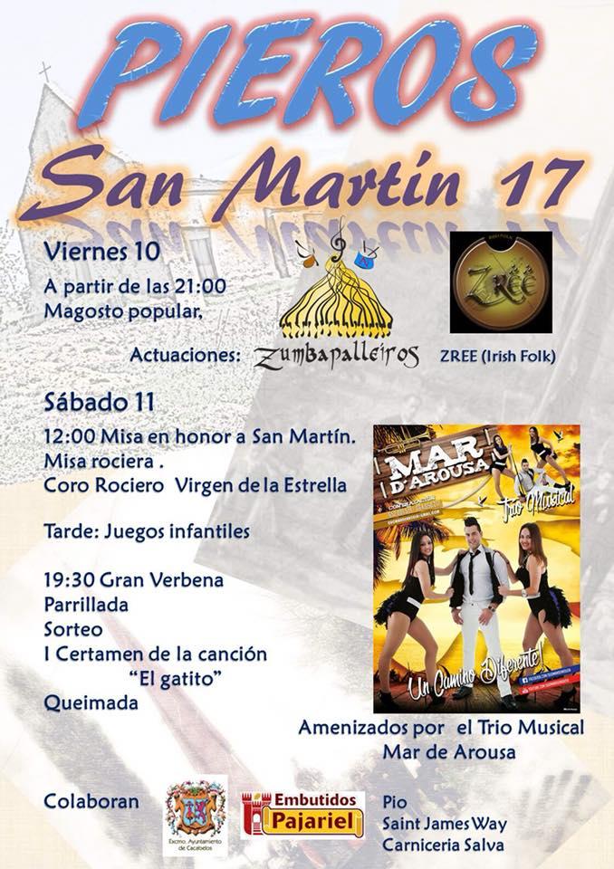 Fiesta de San Martín 2017 en Pieros 2