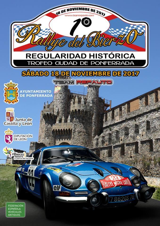Rallye del Bierzo de regularidad histórica
