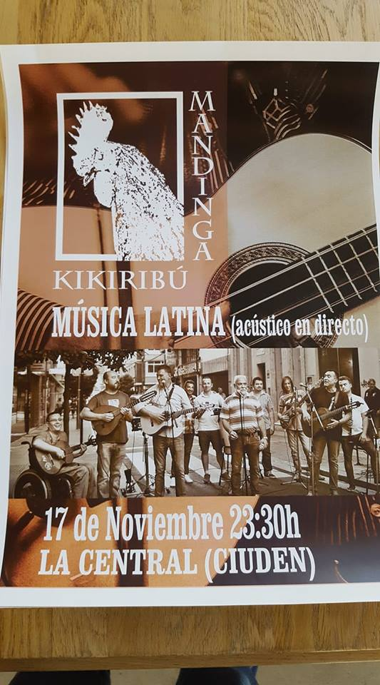 Concierto: Kikiribú Mandinga