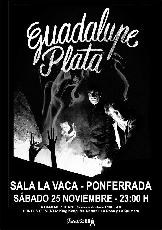 Guadalupe Plata llegan desde Úbeda a La Vaca para descargar toda su fuerza en el escenario 2