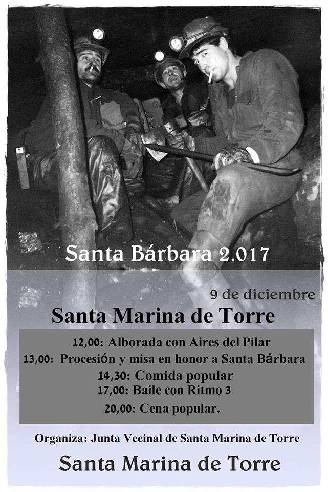 Santa Bárbara 2017 en Santa Marina de Torre