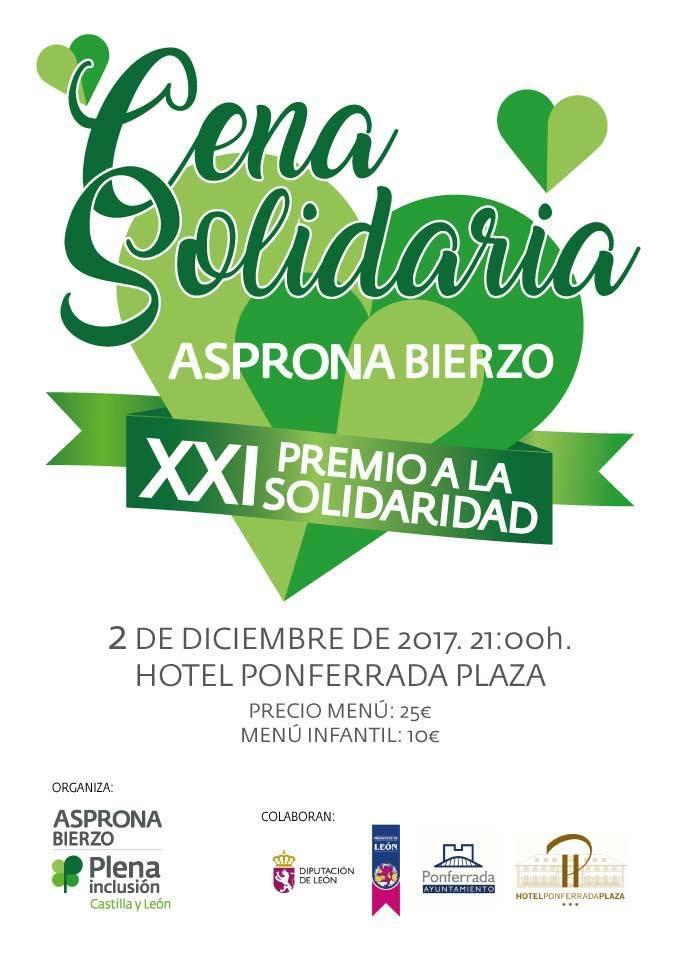 Cena Solidaria Asprona Bierzo