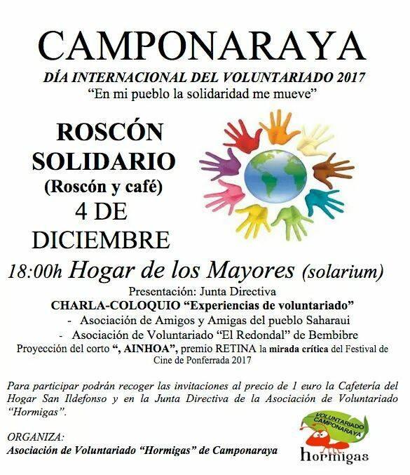 Roscón solidario