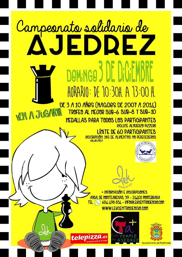 Campeonato solidario de Ajedrez 2017
