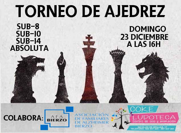 Torneo navideño ajedrez